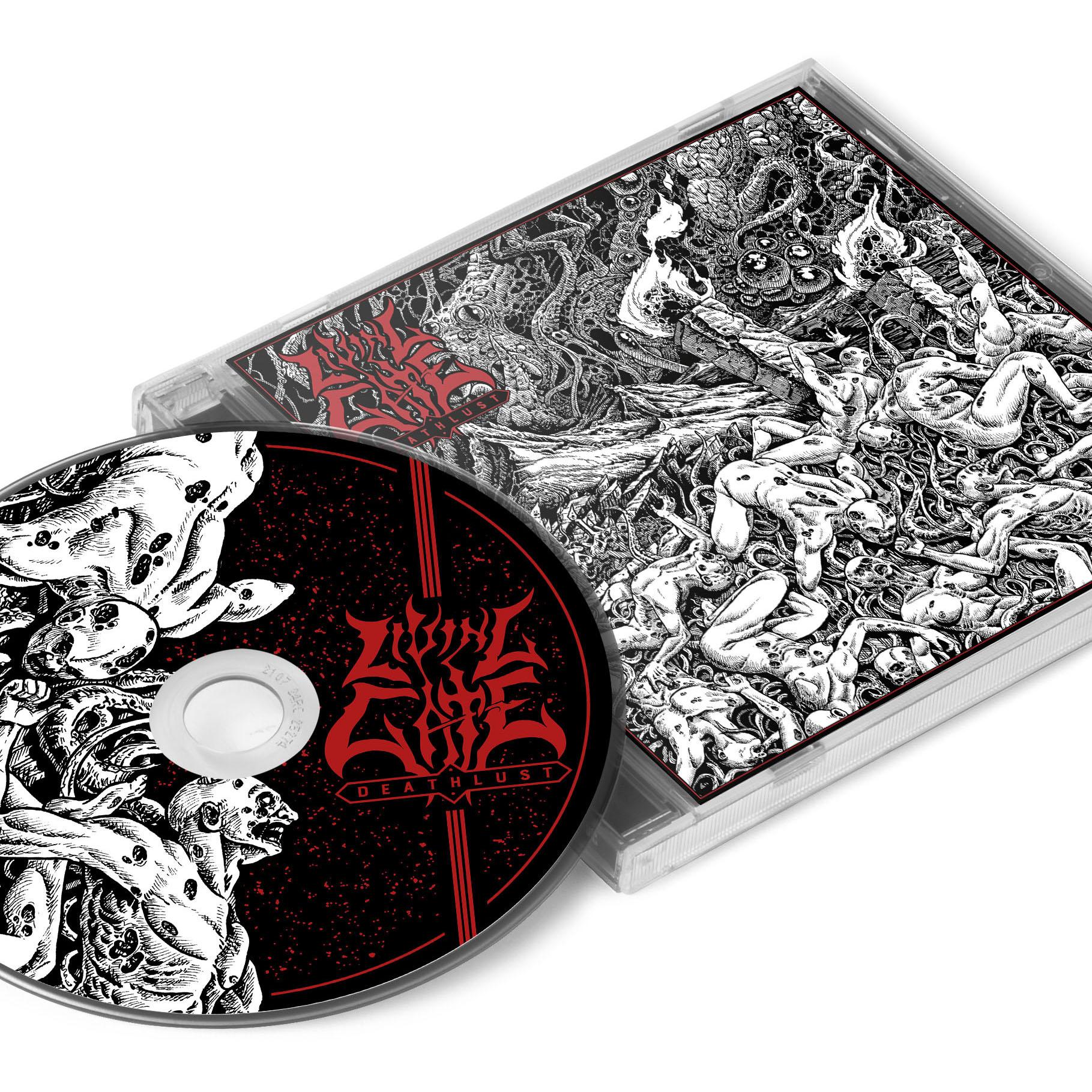 Deathlust T Shirt + CD Bundle