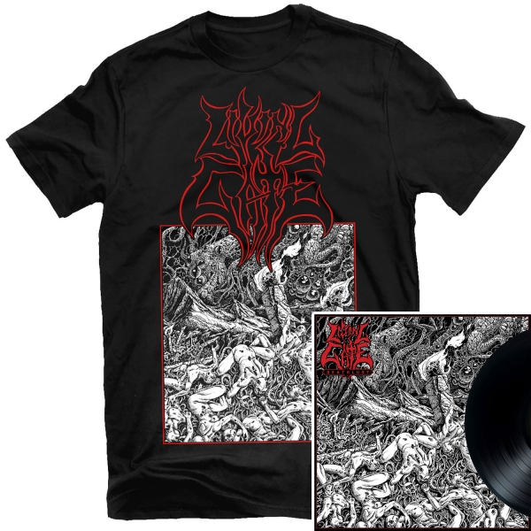 Deathlust T Shirt + LP Bundle