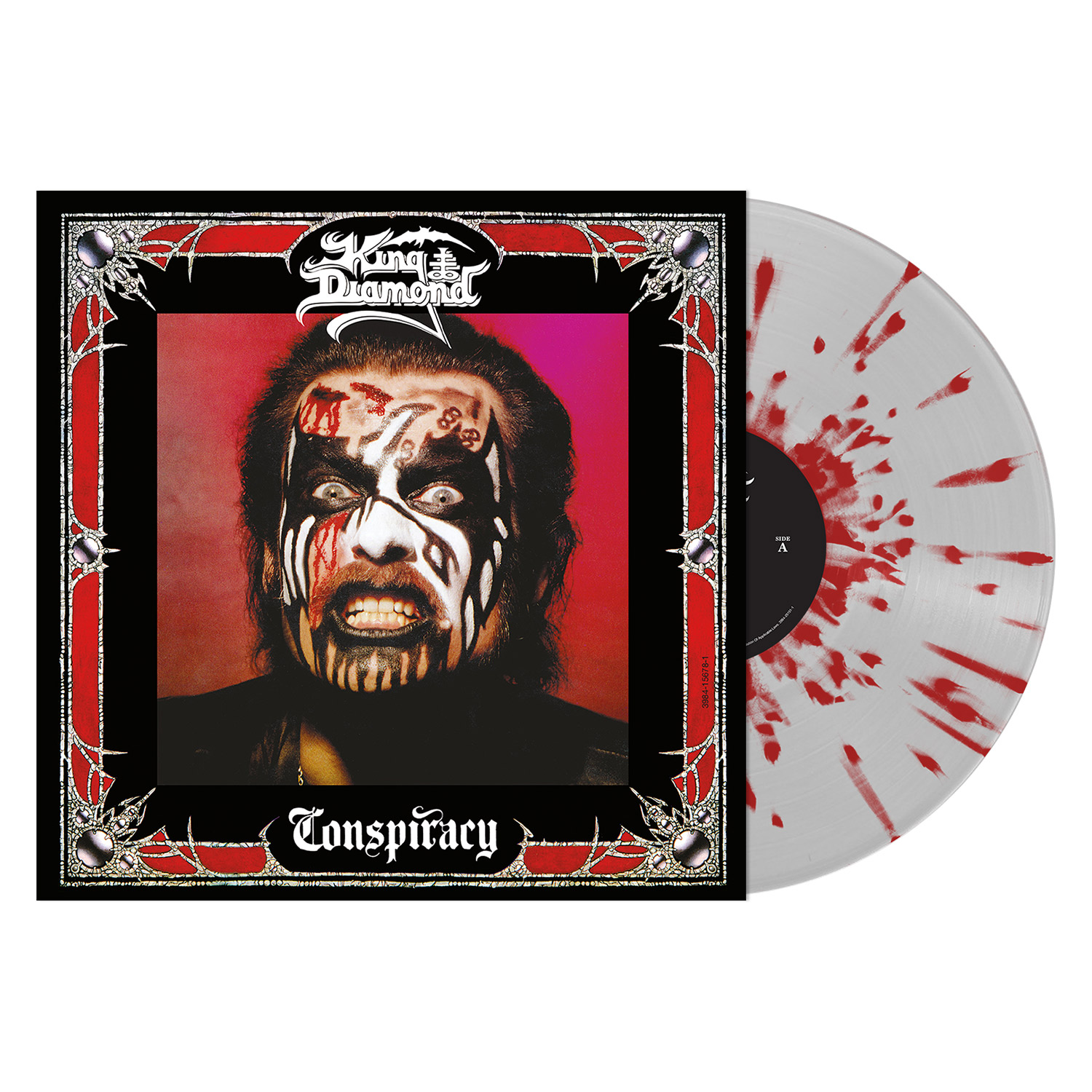 Conspiracy (Clear with Red Splatter Vinyl)