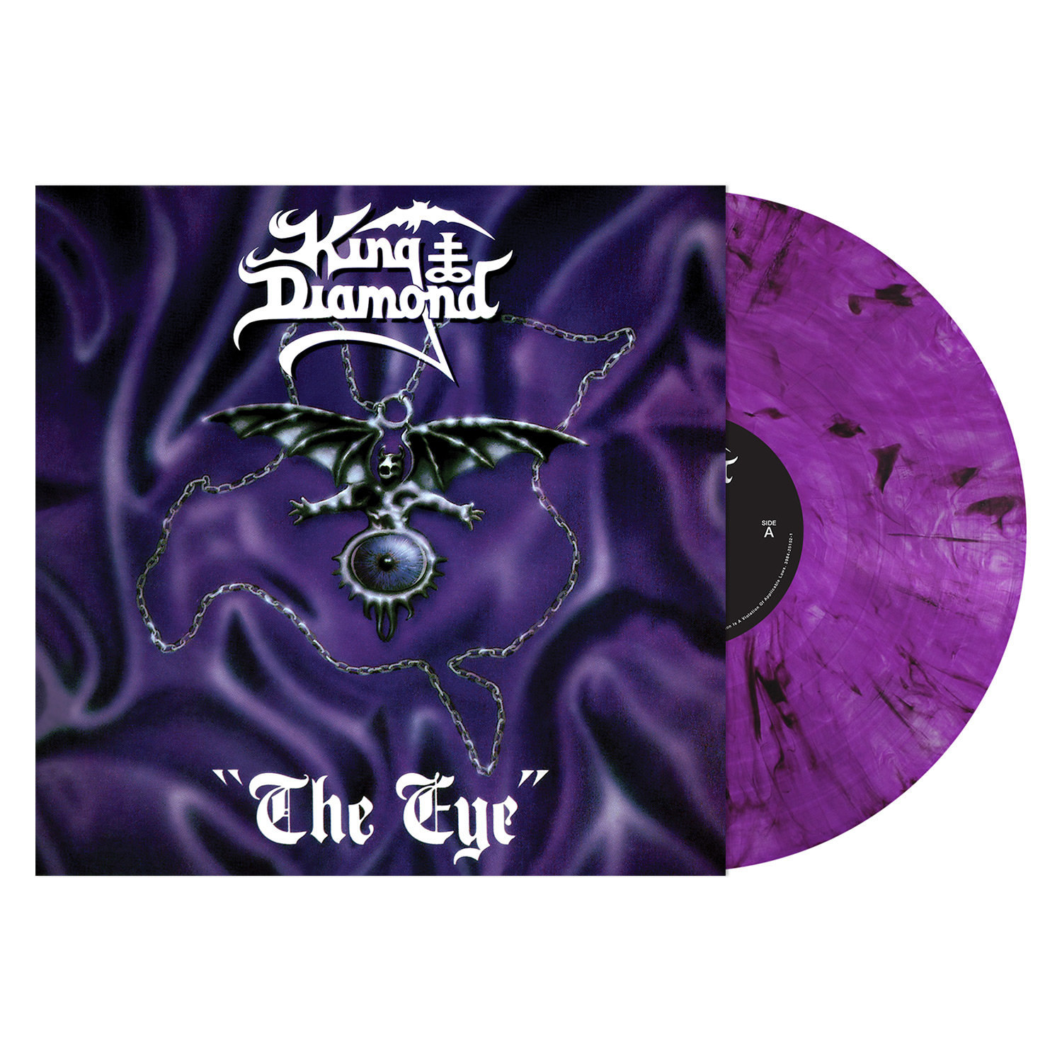 The Eye (Purple and Black Marble Vinyl)
