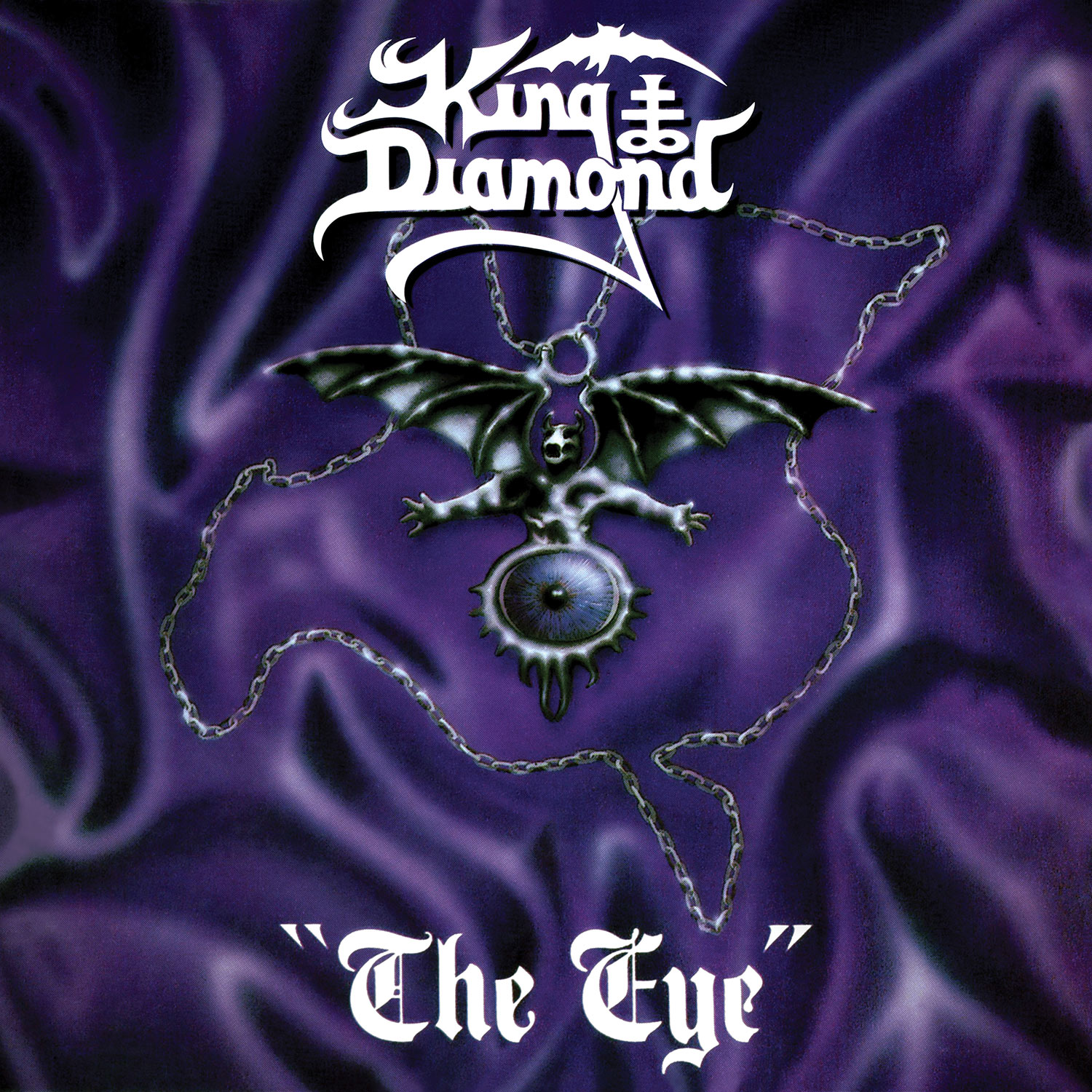 The Eye (Clear with Purple Ink Spots Vinyl)