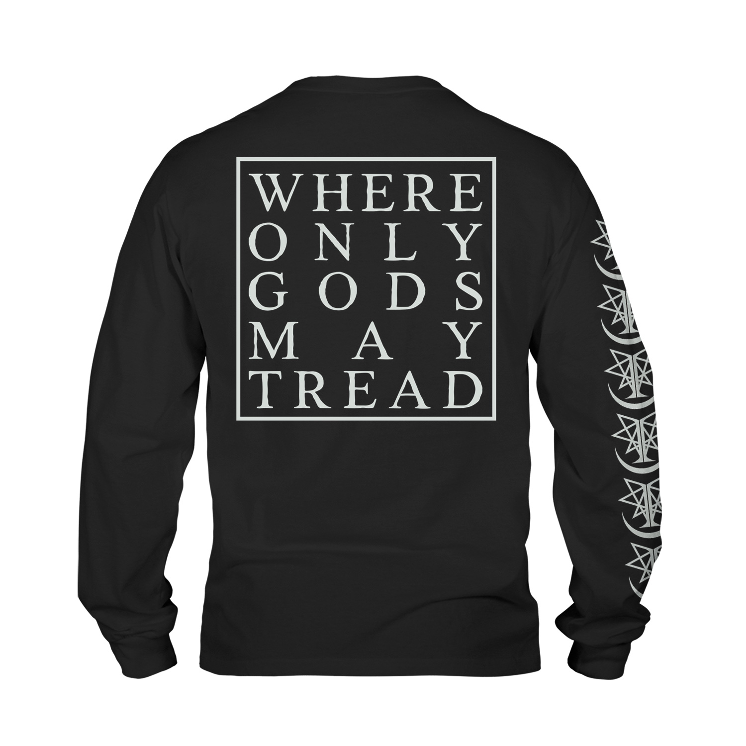 Where Only Gods May Tread (black)