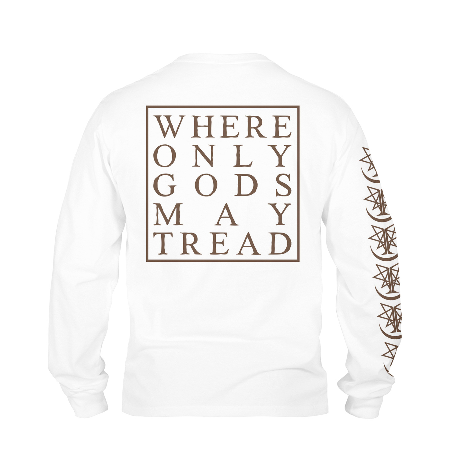 Where Only Gods May Tread (white)