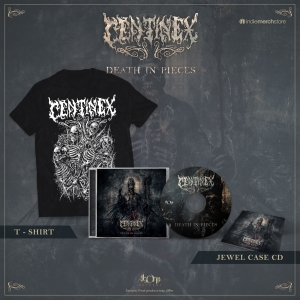 Death in Pieces CD + Tee Bundle