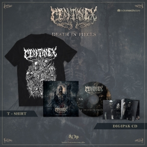 Death in Pieces Deluxe CD + Tee Bundle