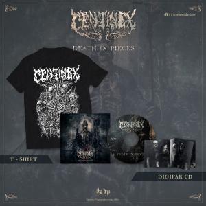 Pre-Order: Death in Pieces Deluxe CD + Tee Bundle