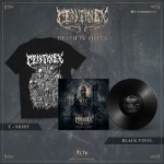 Death in Pieces Black Vinyl + Tee Bundle