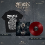 Death in Pieces Red Vinyl + Tee Bundle