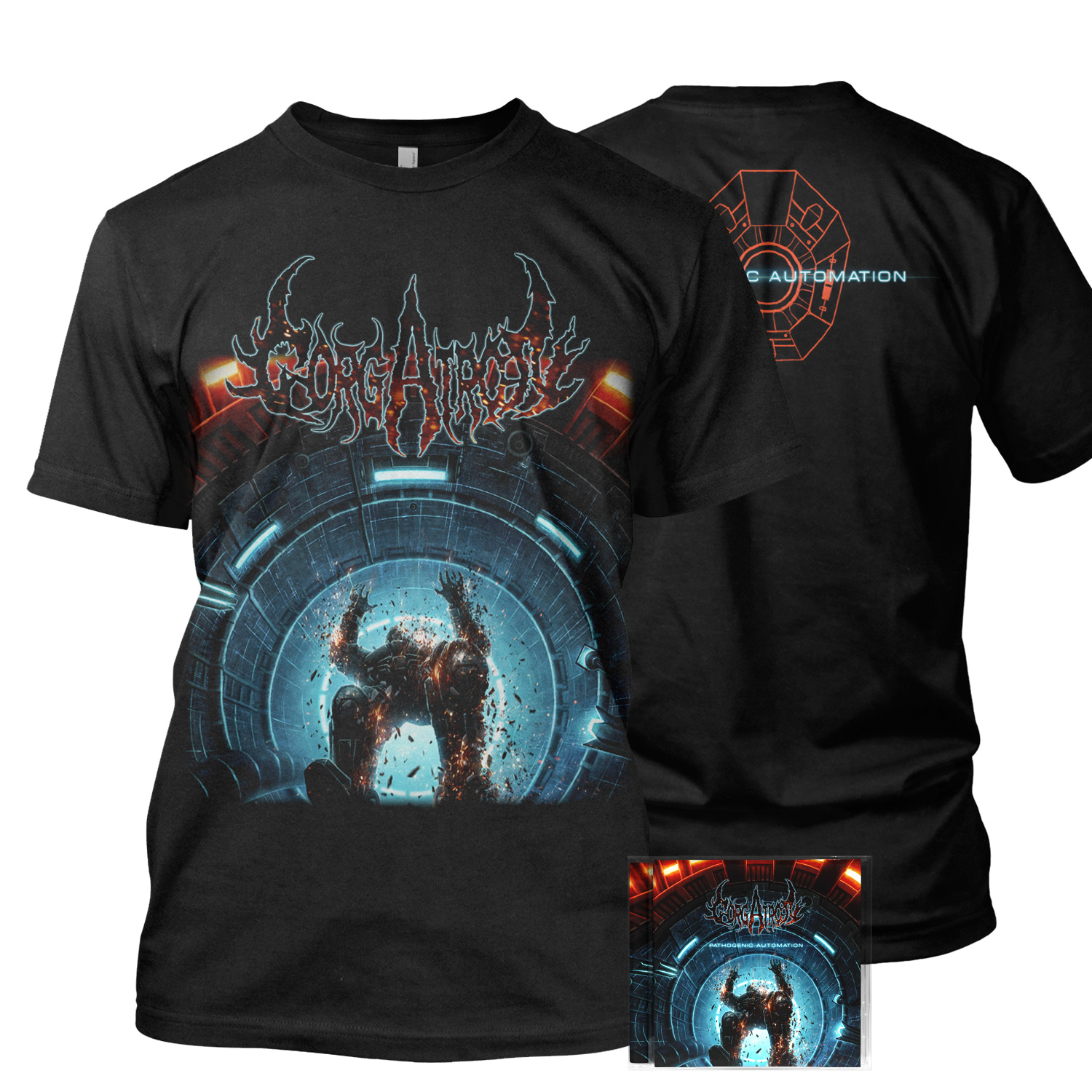 Pathogenic Automation Tee + CD Bundle