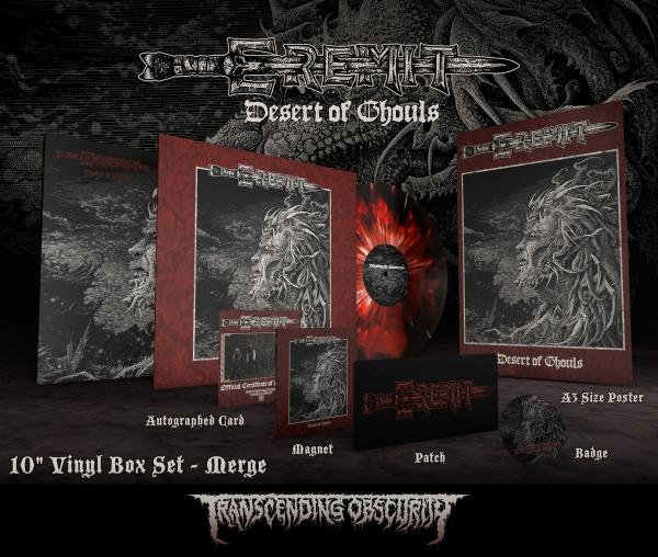 Desert of Ghouls Merge LP Boxset