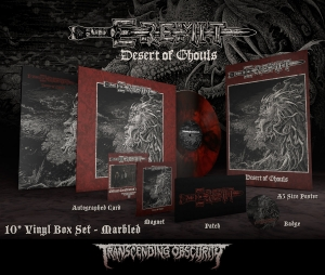 Desert of Ghouls Marble LP Boxset