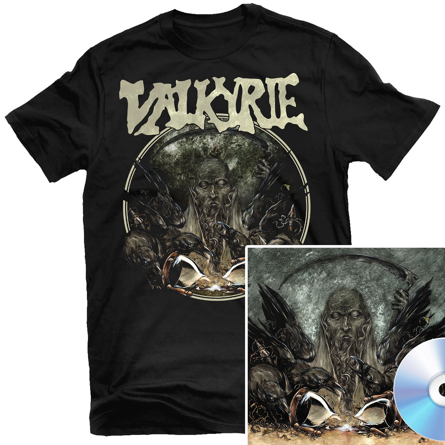 Fear T Shirt + CD Bundle