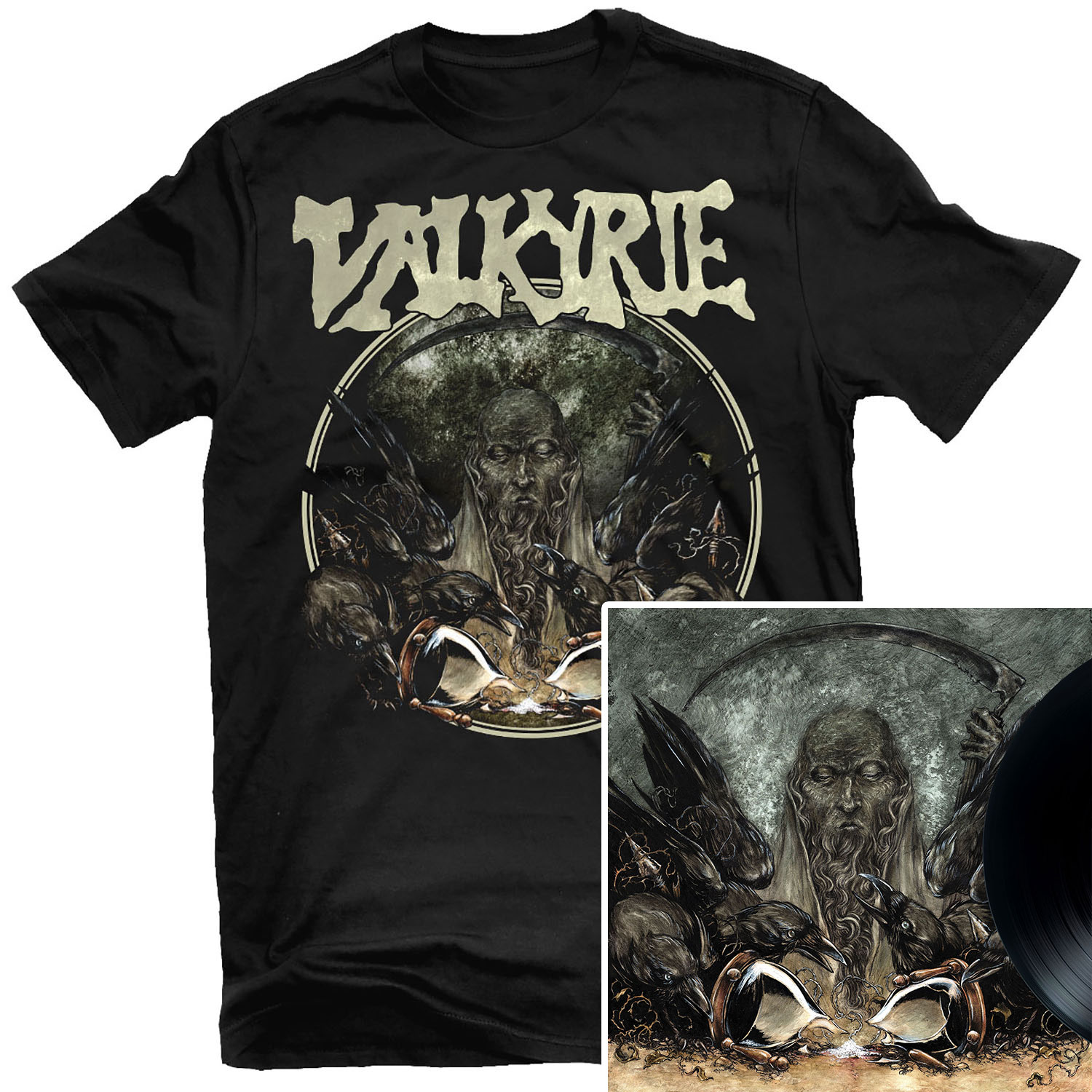 Fear T Shirt + LP Bundle