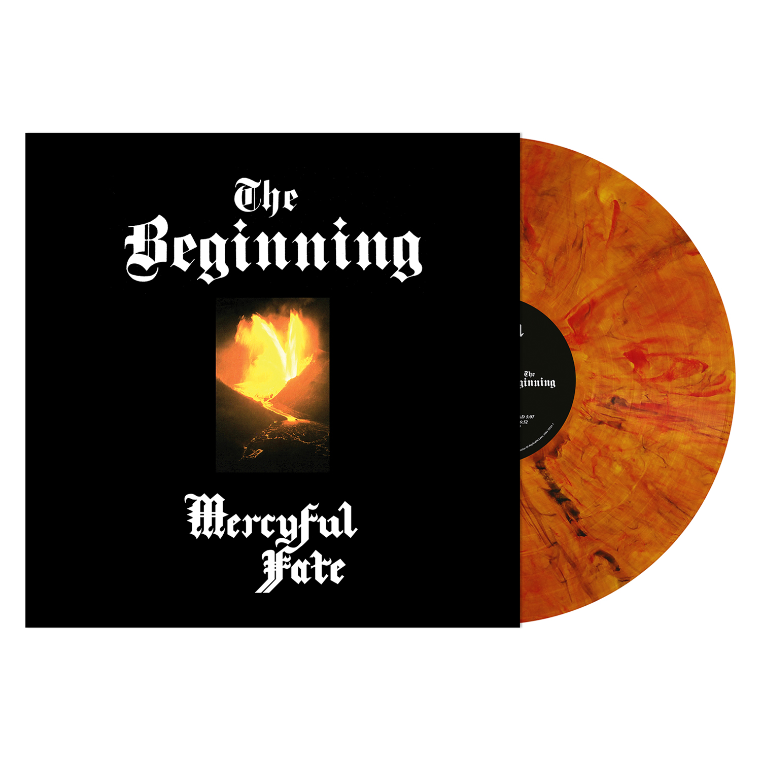 The Beginning (Amber Marbled Vinyl)