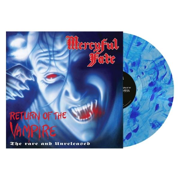 Return of the Vampire (Blue Watercolor)