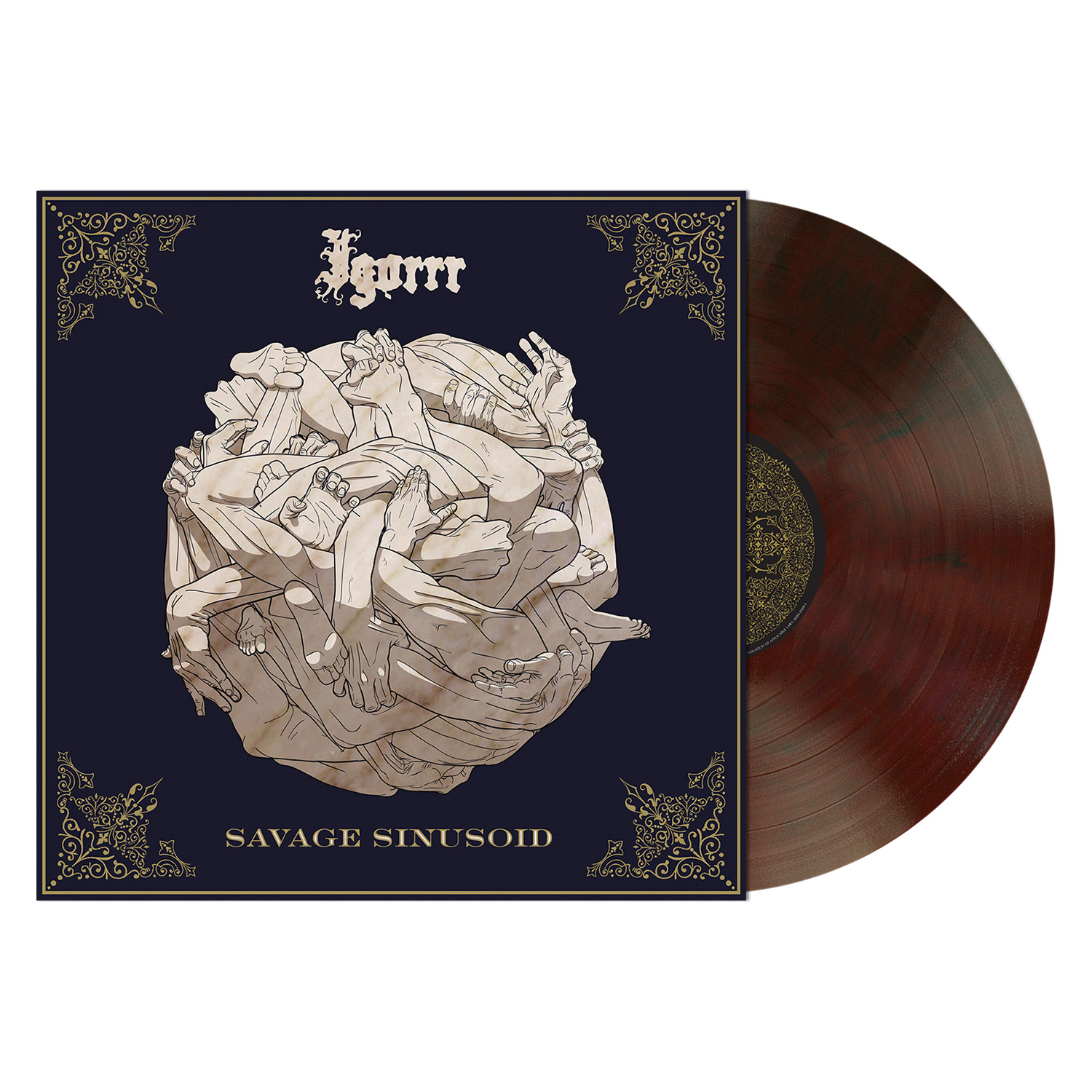 Savage Sinusoid (Red Brown Vinyl)