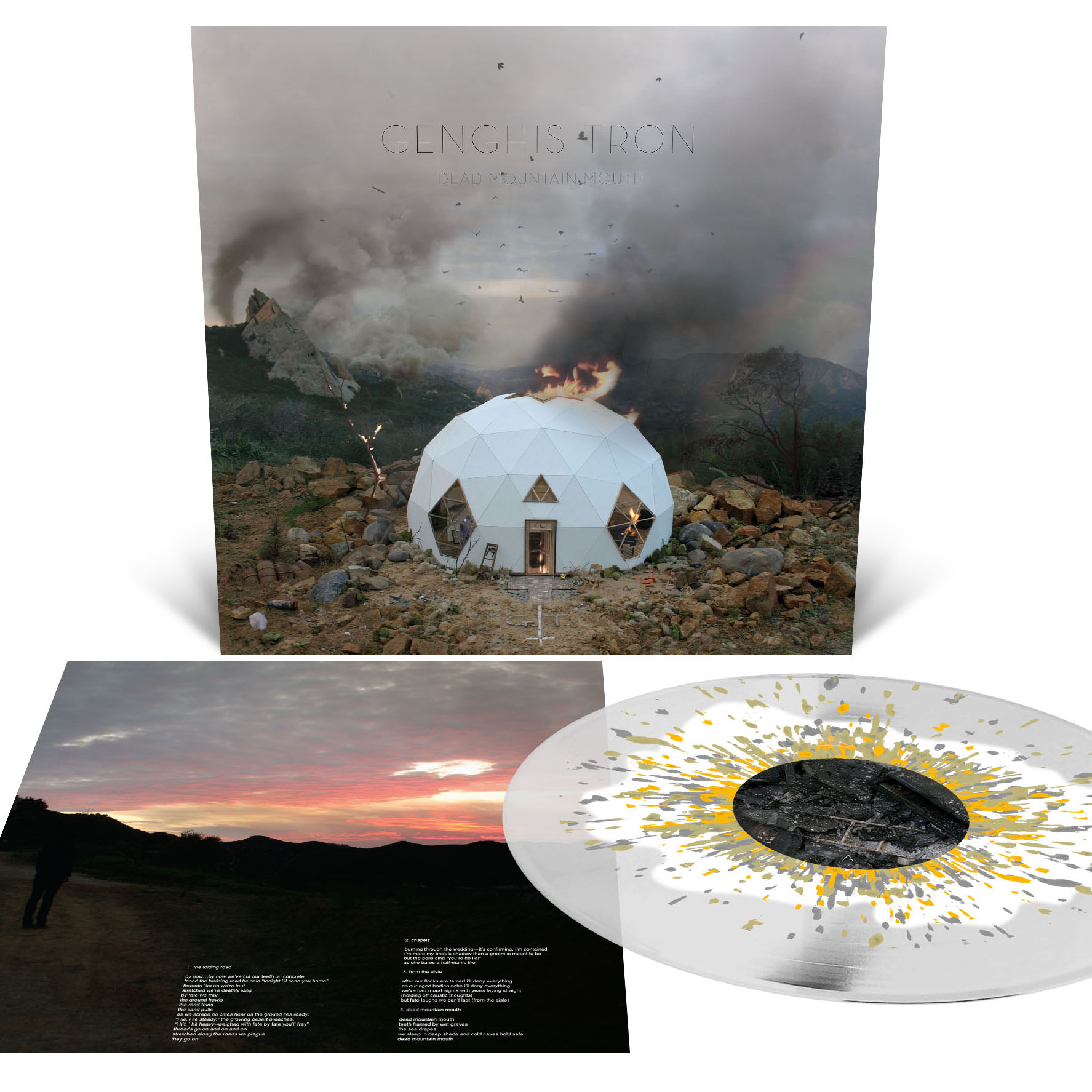 Dead Mountain Mouth T Shirt + LP Bundle