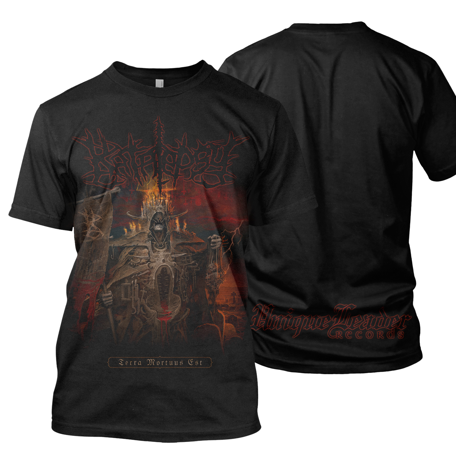 Terra Mortuus CD + Tee Bundle