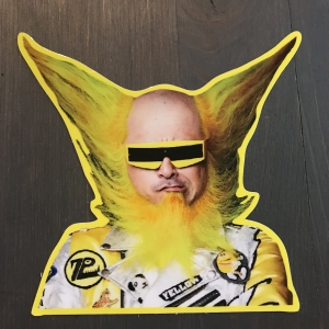 Peelander-Yellow Die Cut Sticker