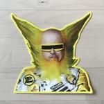 Peelander-Yellow Die Cut Sticker