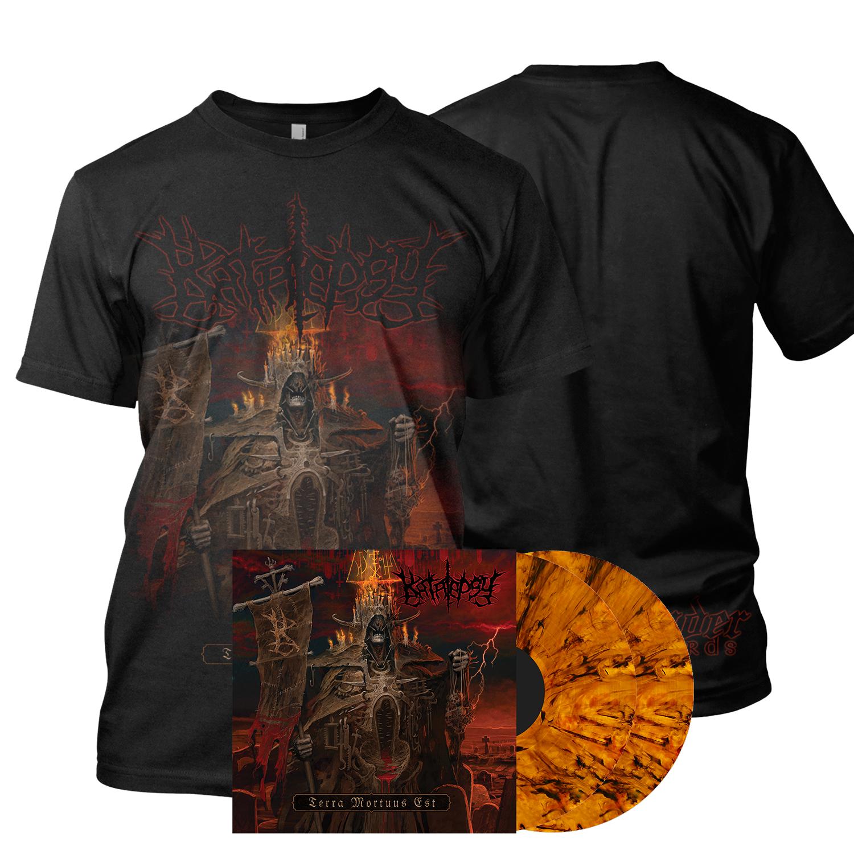Terra Mortuus LP + Tee Bundle