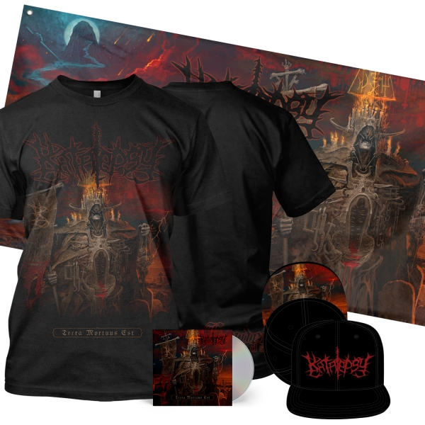 Terra Mortuus Deluxe CD + Tee Bundle