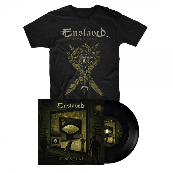 Homebound 7'' vinyl + T-Shirt Bundle