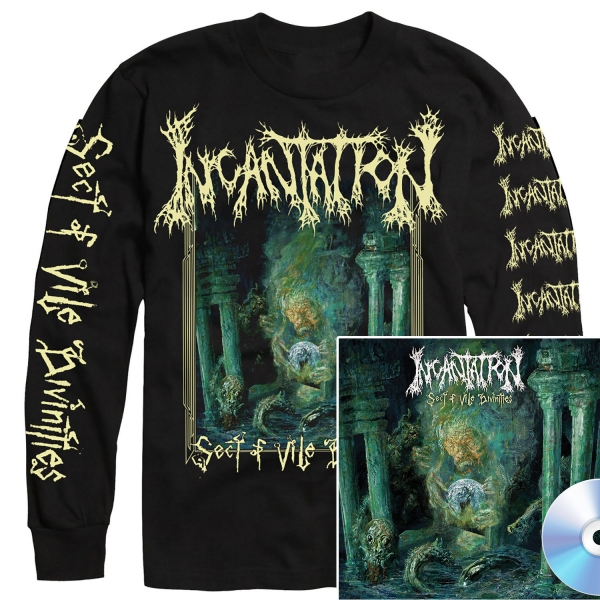 Sect of Vile Divinities Longsleeve Shirt + CD Bundle