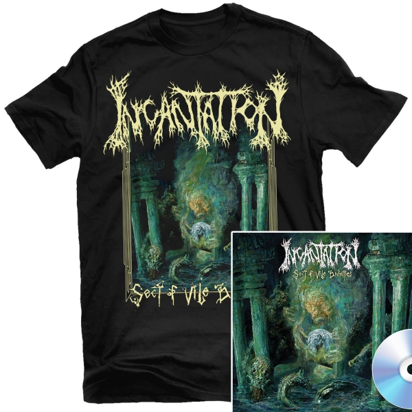 Sect of Vile Divinities T Shirt + CD Bundle