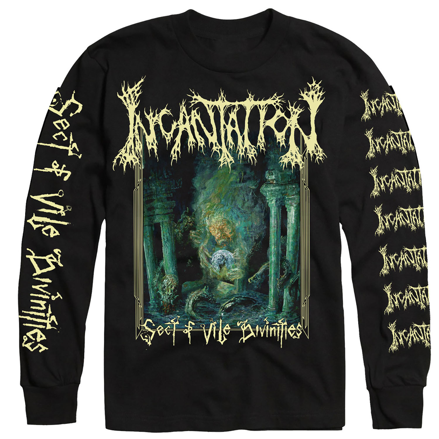 Sect of Vile Divinities Longsleeve Shirt + LP Bundle
