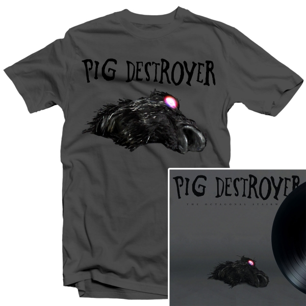 The Octagonal Stairway T Shirt + LP Bundle