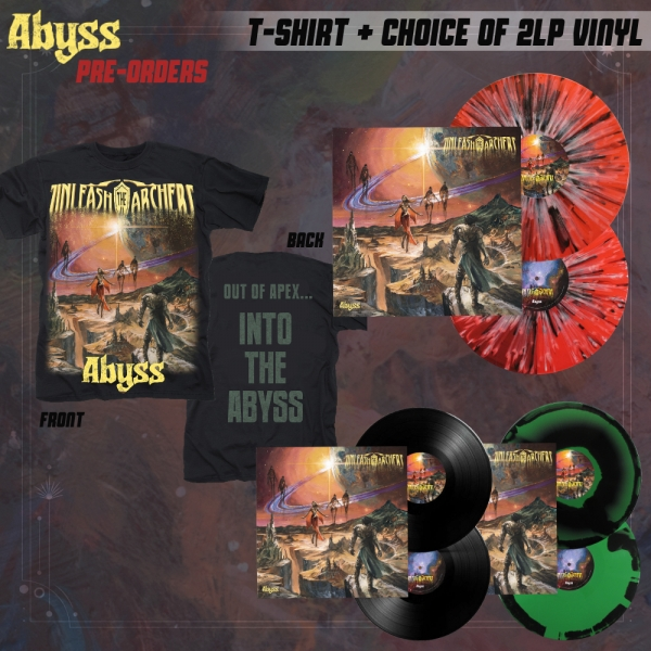 Abyss LP + Tee Bundle