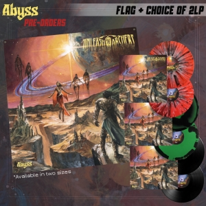 Abyss LP + Flag Bundle
