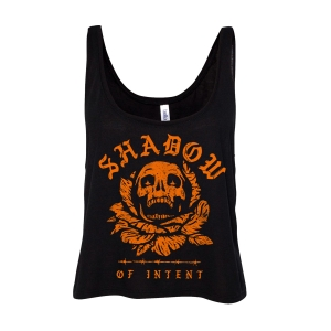 Skull Cropped Tank