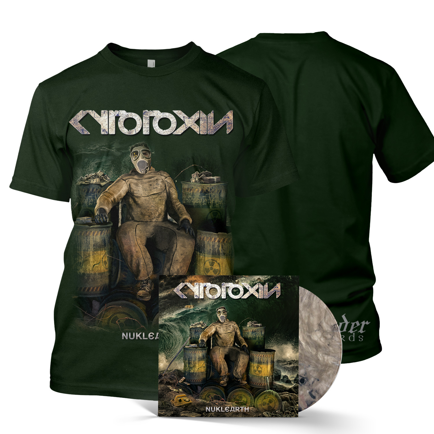 Nuklearth LP + Tee Bundle