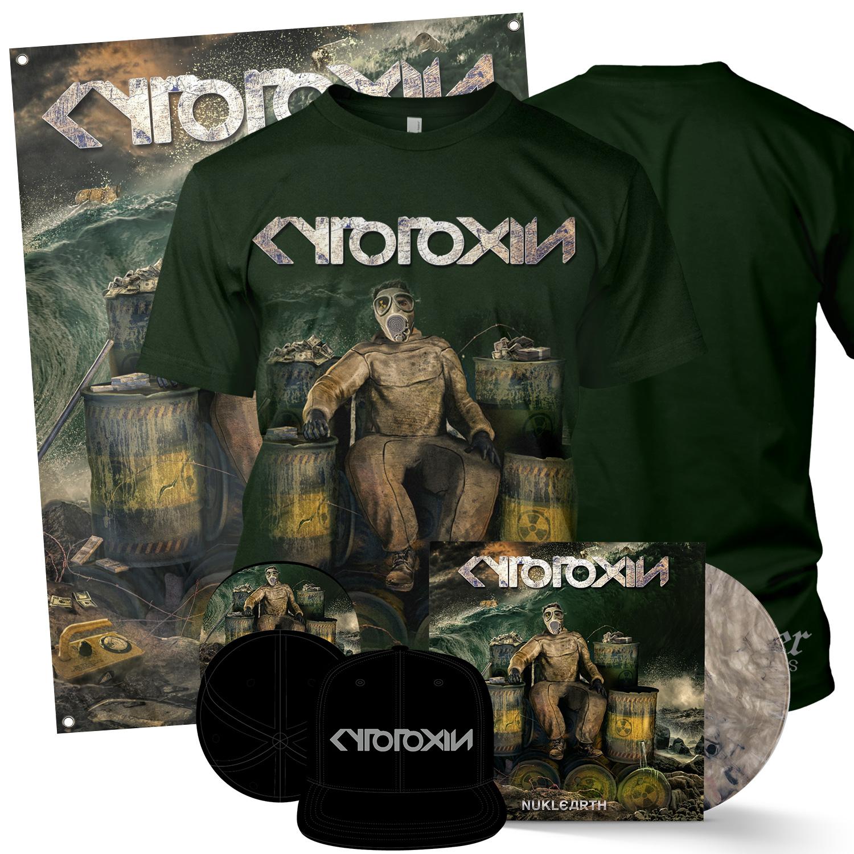 Nuklearth Deluxe LP + Tee Bundle