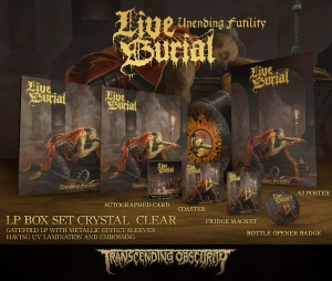 Unending Futility Crystal Clear LP Box