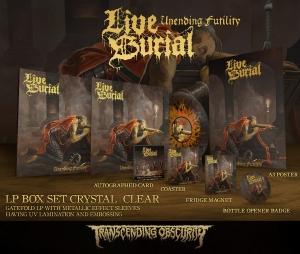 Unending Futility Clear LP Boxset