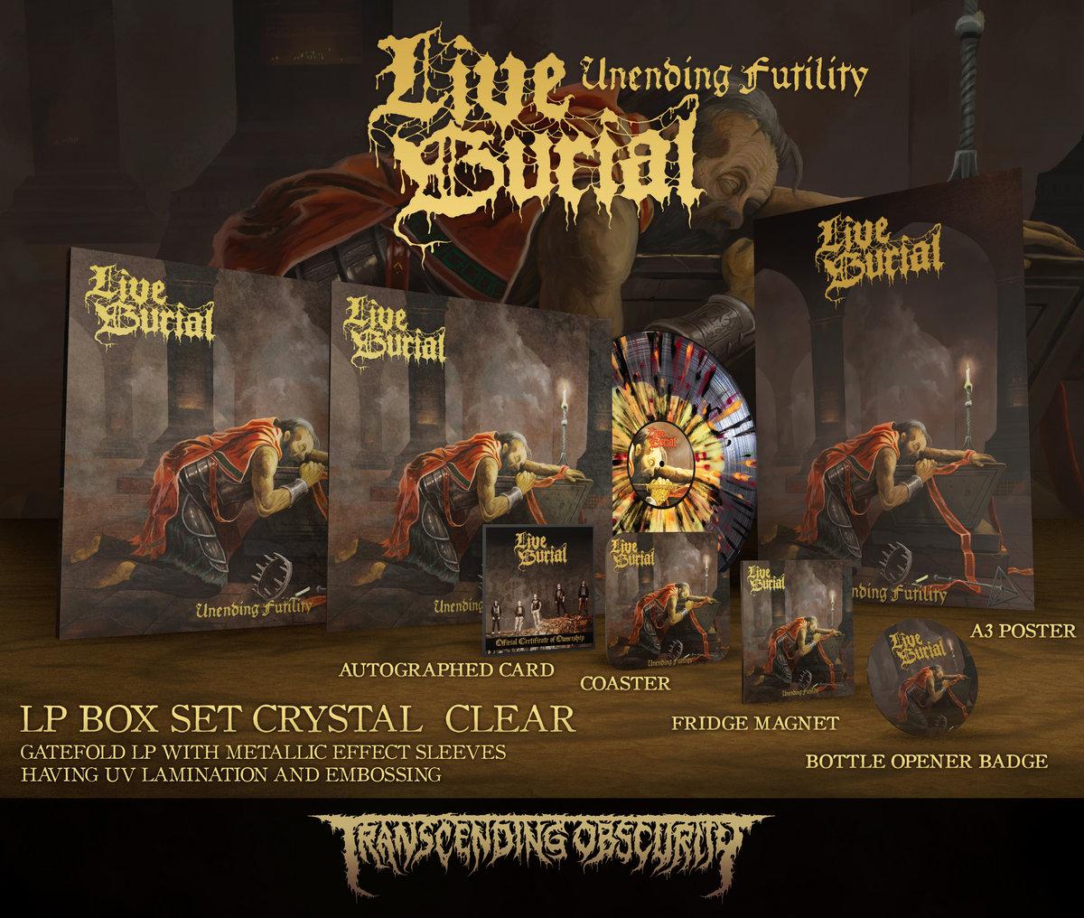 Unending Futility Crystal Clear LP Box