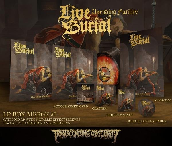 Unending Futility v1 LP Boxset