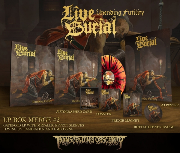 Unending Futility Merge #2 LP Box