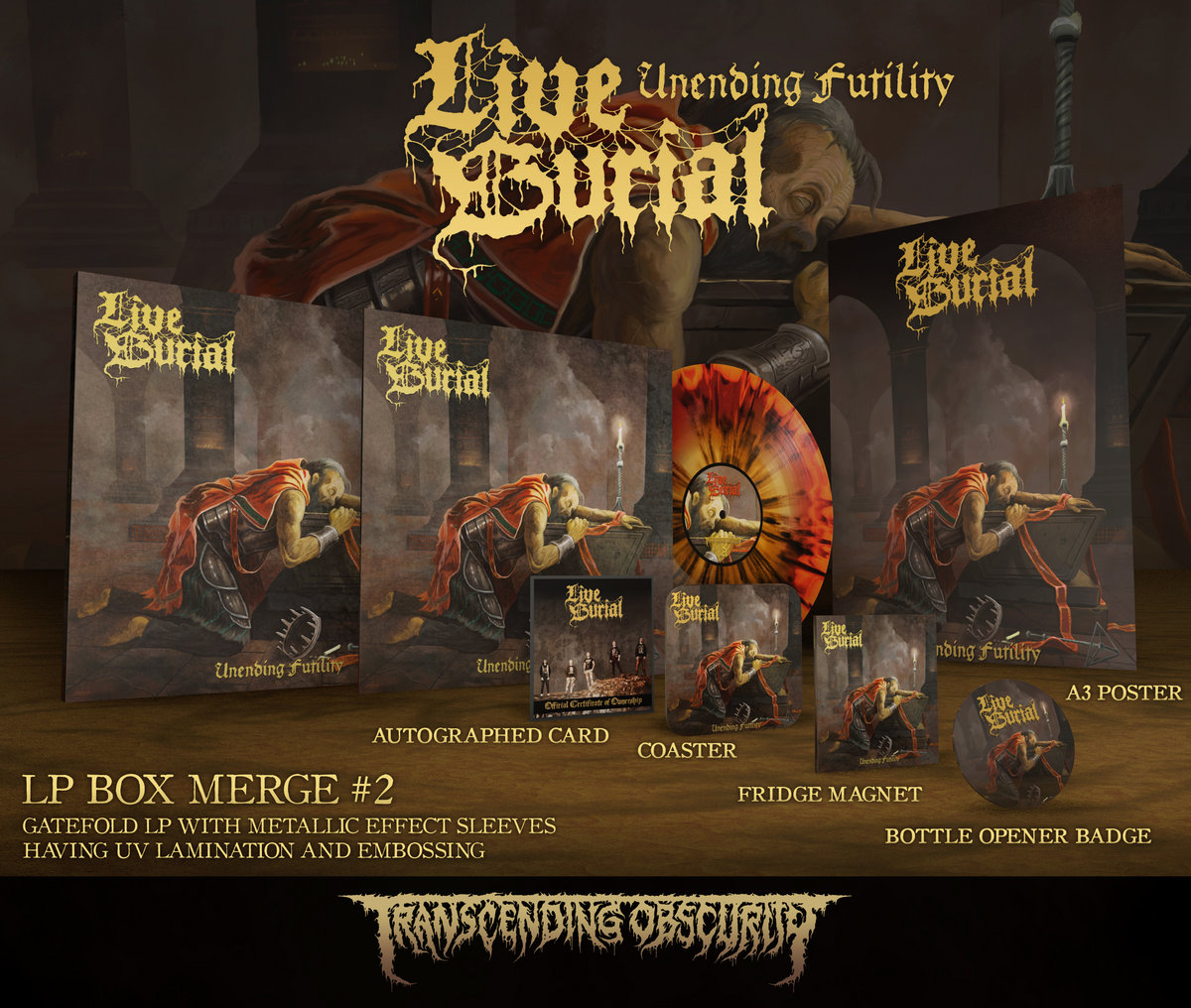 Unending Futility Merge #2 LP Box