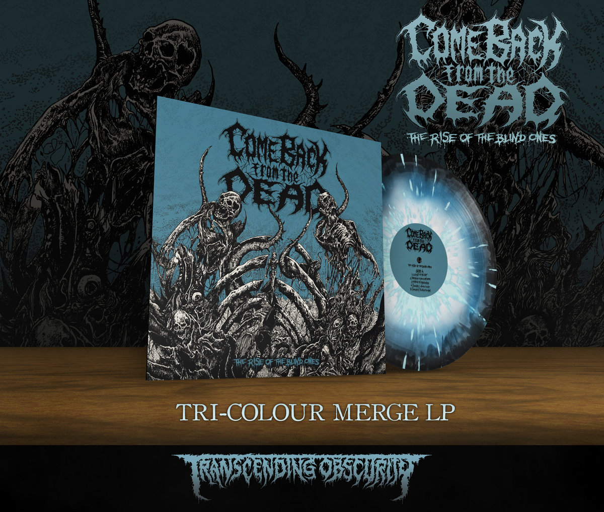 The Rise Of The Blind Ones Merge LP