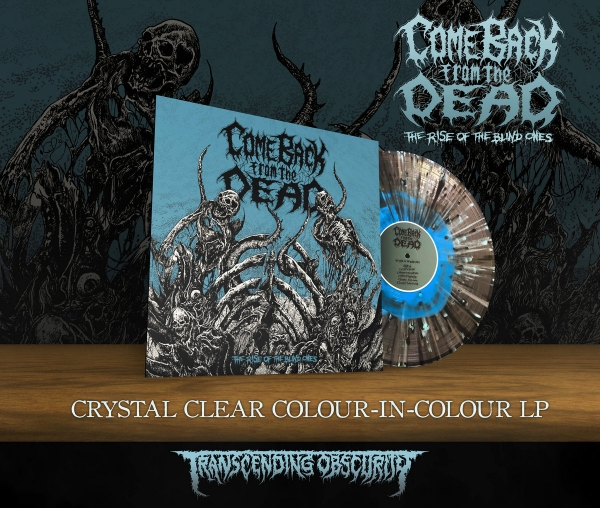 The Rise Of The Blind Ones Crystal Clear LP