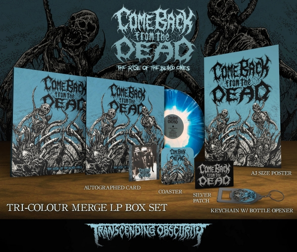 The Rise Of The Blind Ones Merge LP Box set