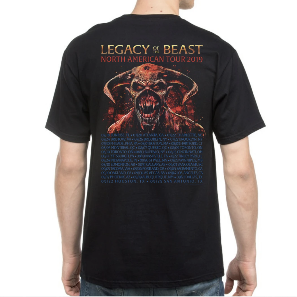 Legacy Of The Beast 2019 Tour