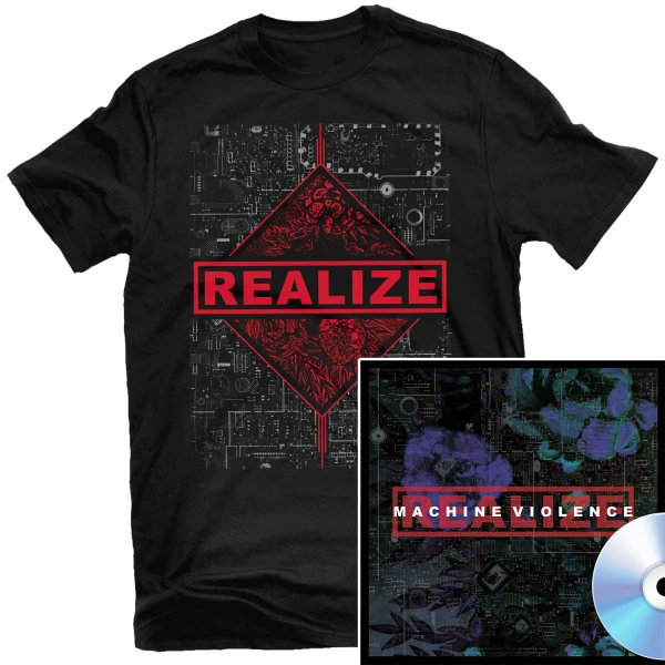 Machine Violence T Shirt + CD Bundle