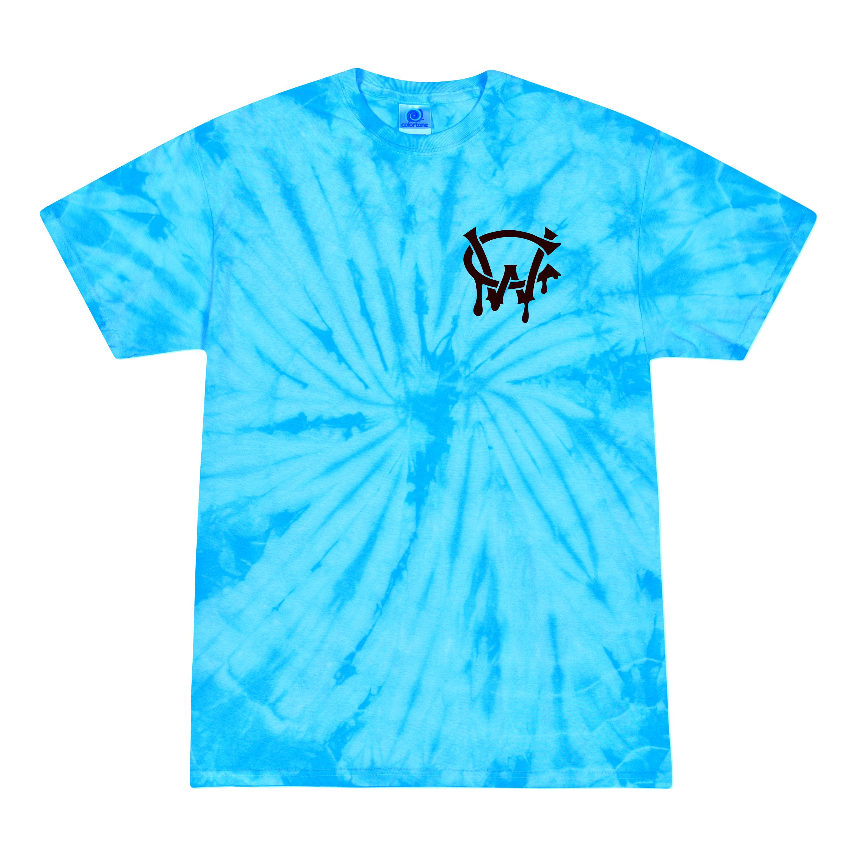 Tie Dye Web T-shirt
