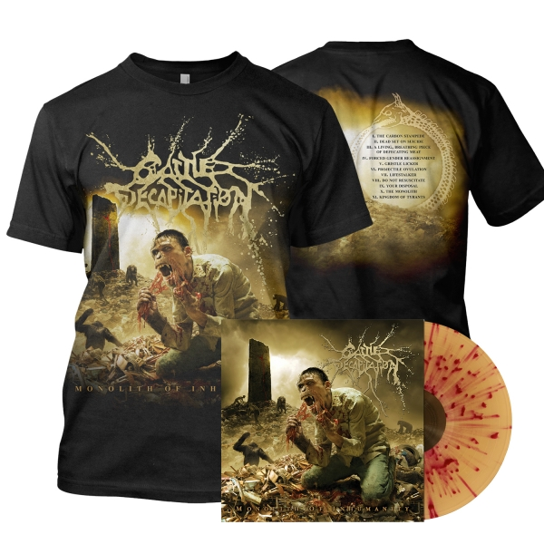 Monolith Of Inhumanity LP/Tee Bundle