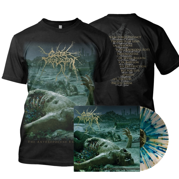 The Anthropocene Extinction LP/Tee Bundle